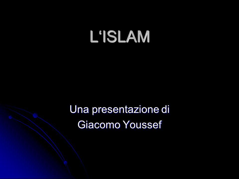Una presentazione di Giacomo Youssef