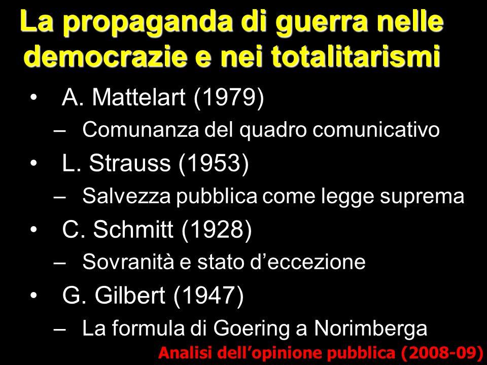 La propaganda di guerra nelle democrazie e nei totalitarismi