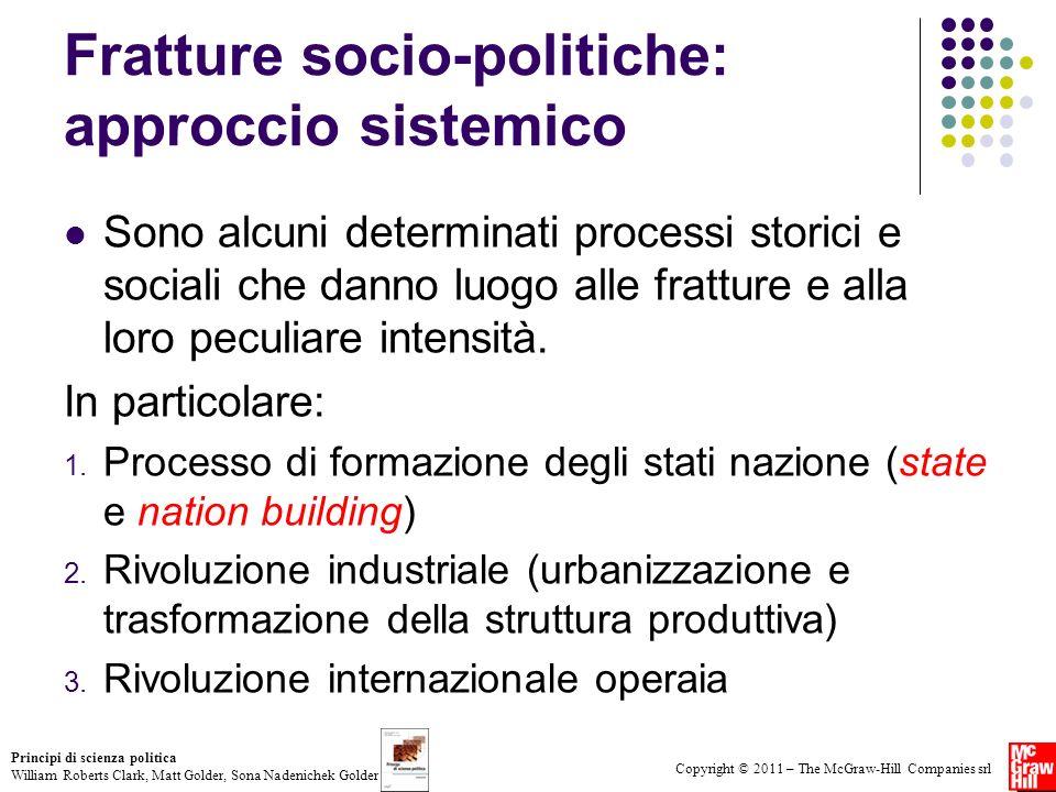 Fratture socio-politiche: approccio sistemico