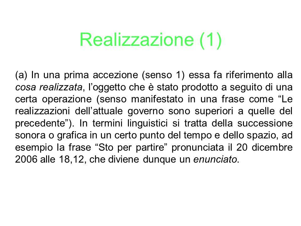 Realizzazione (1)