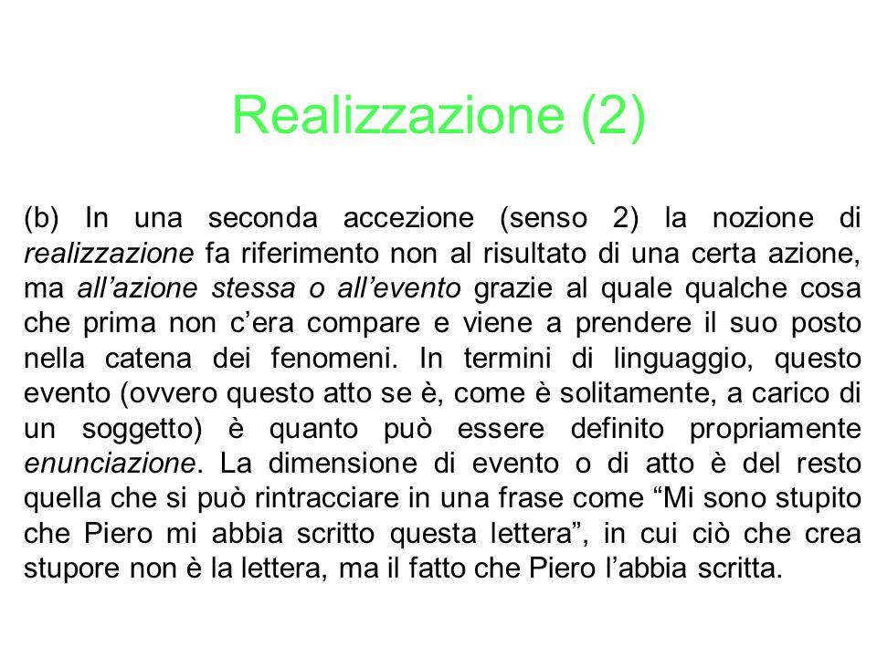 Realizzazione (2)