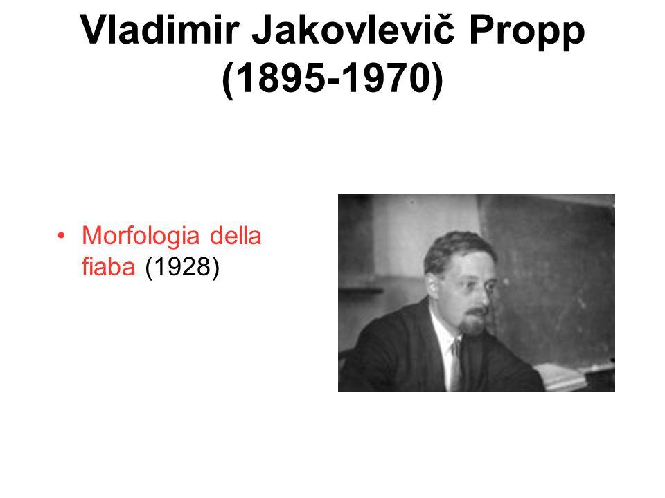 Vladimir Jakovlevič Propp (1895-1970)
