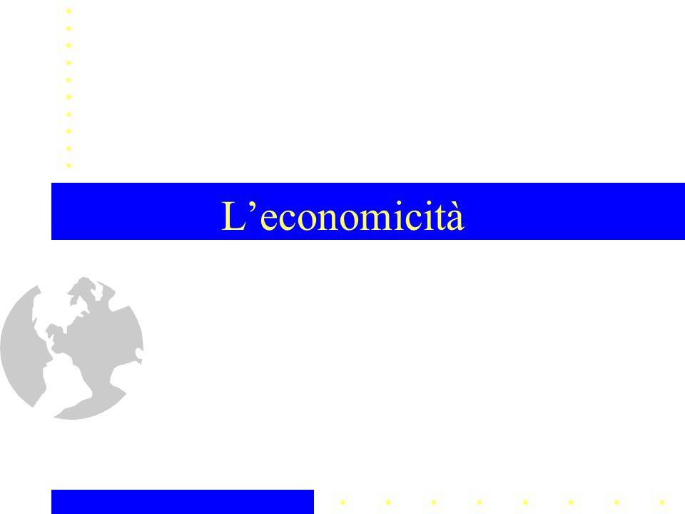 L'economicità