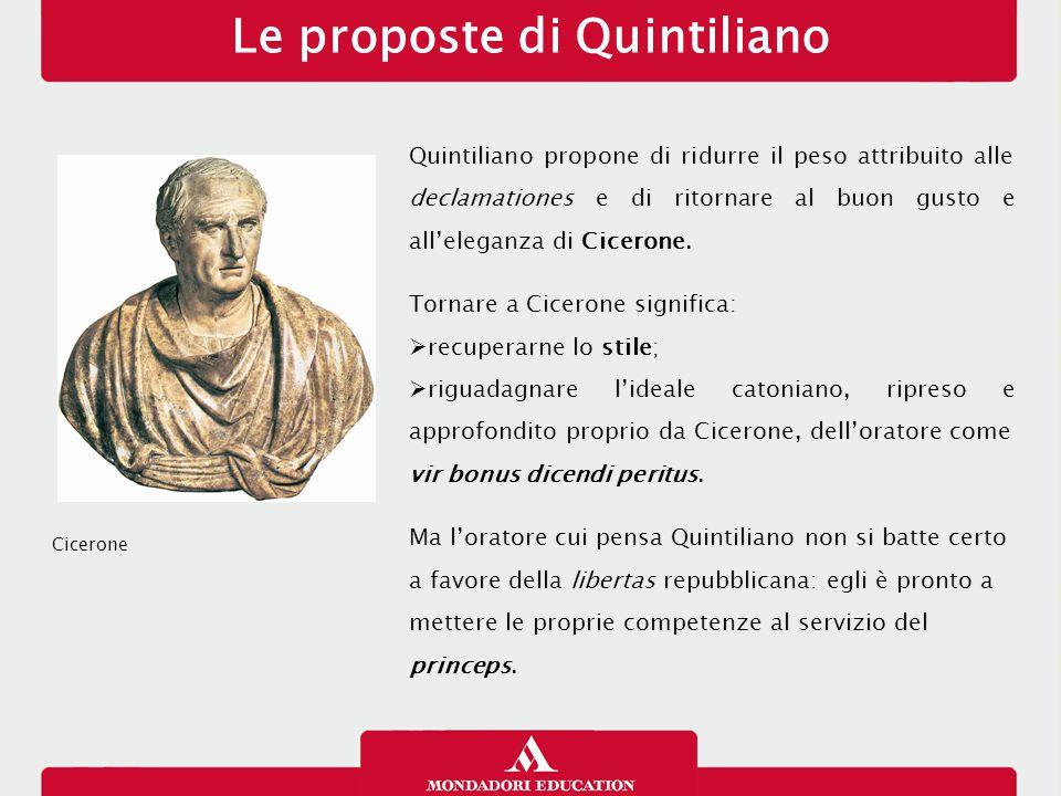 Le proposte di Quintiliano