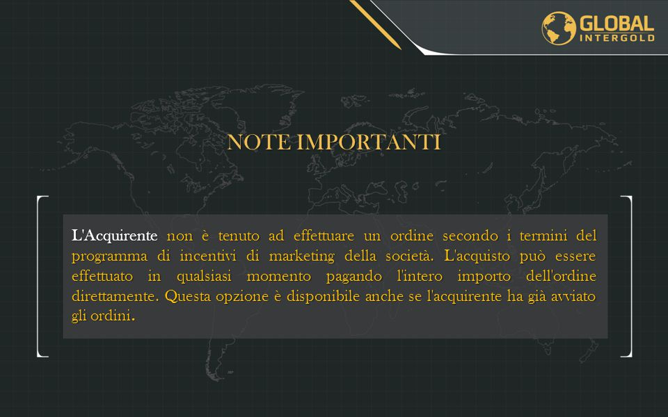 NOTE IMPORTANTI