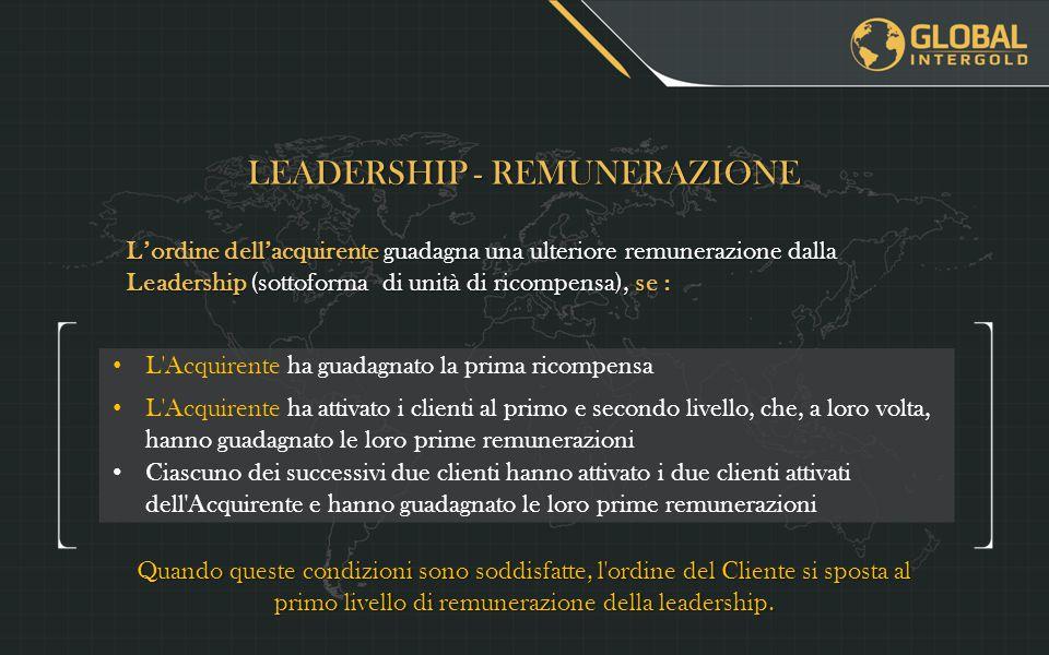 LEADERSHIP - REMUNERAZIONE