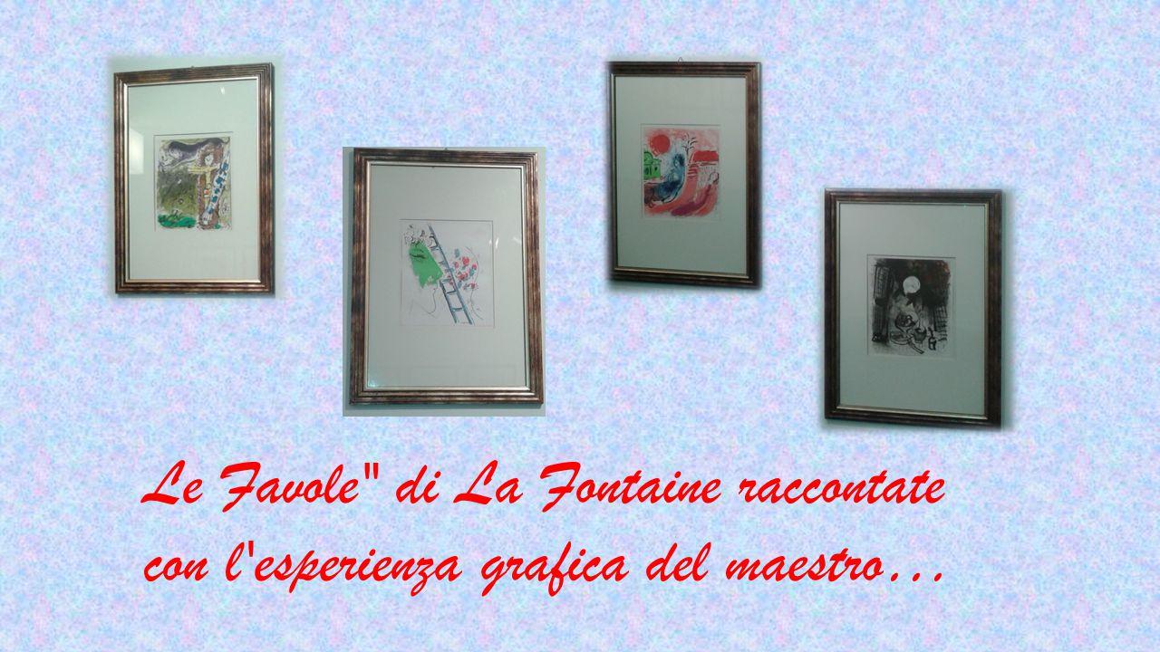 Le Favole di La Fontaine raccontate con l esperienza grafica del maestro…