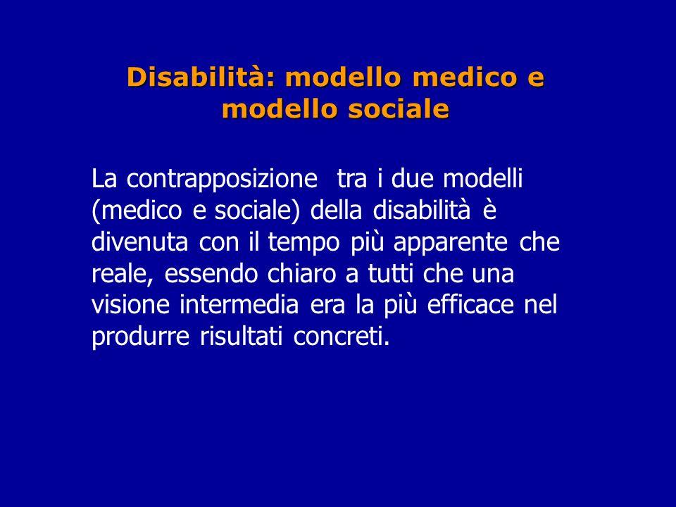 Disabilità: modello medico e modello sociale