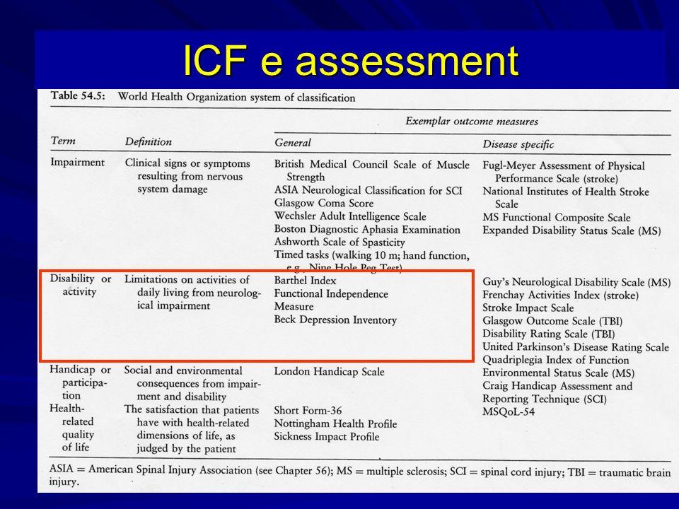 ICF e assessment