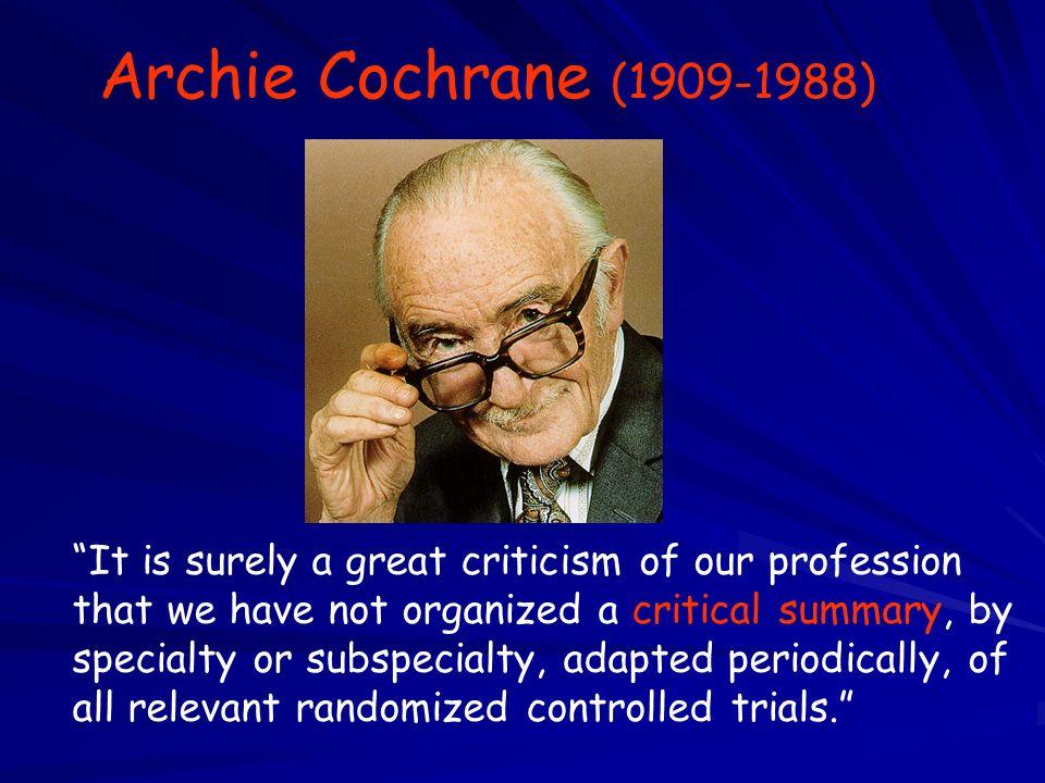 Archie Cochrane (1909-1988)