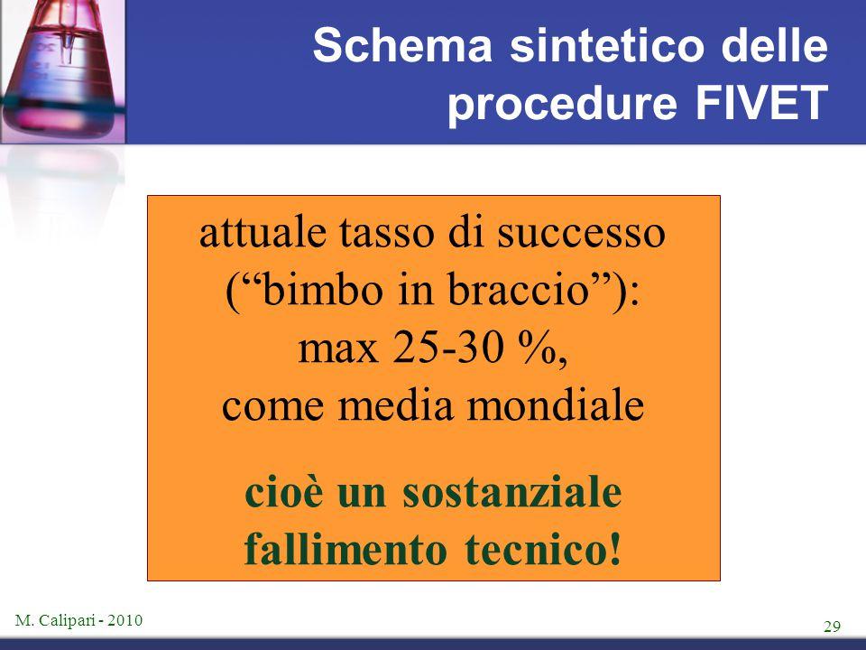 Schema sintetico delle procedure FIVET