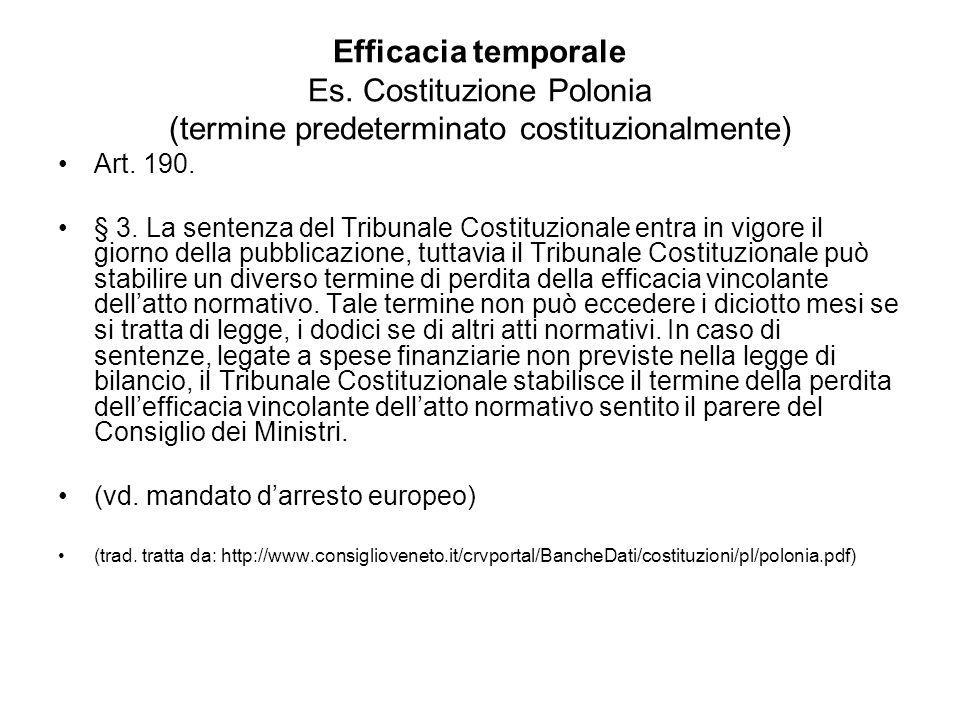 Efficacia temporale Es