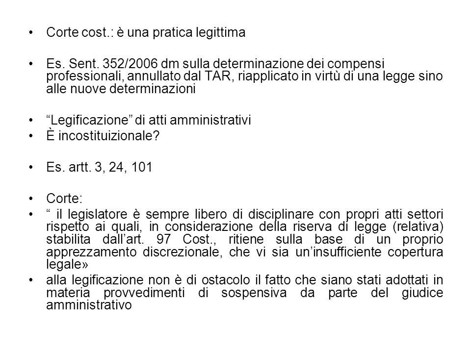 Corte cost.: è una pratica legittima