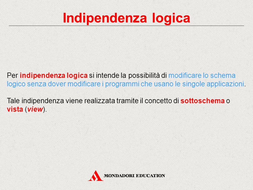 Indipendenza logica