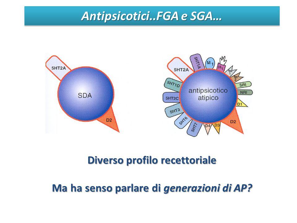 Antipsicotici..FGA e SGA…