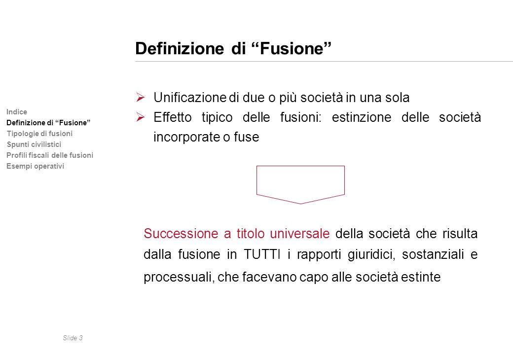 Definizione di Fusione