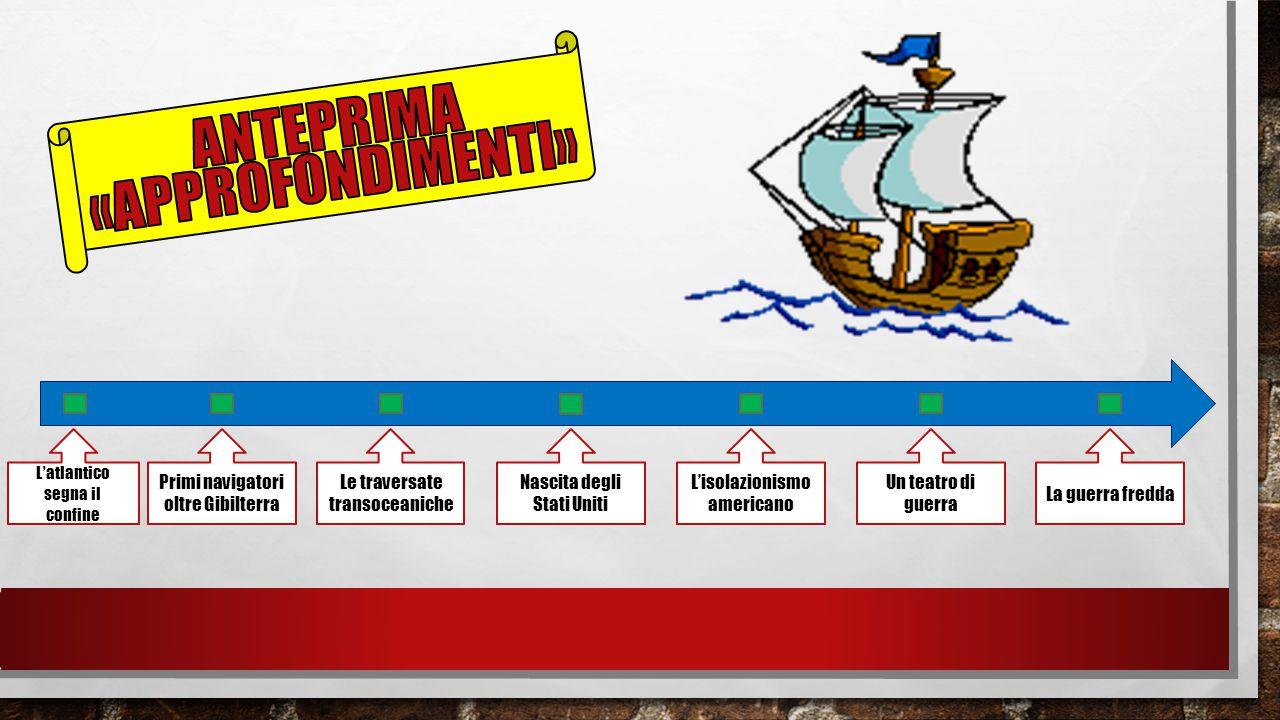 Anteprima «approfondimenti» Primi navigatori oltre Gibilterra