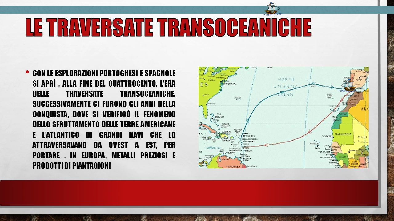 Le traversate transoceaniche