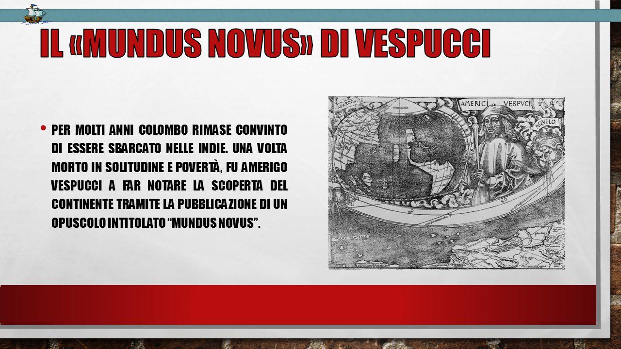 Il «mundus novus» di vespucci