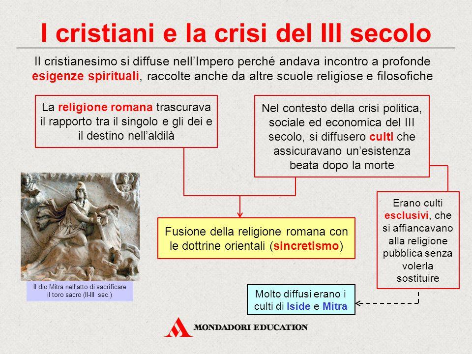 I cristiani e la crisi del III secolo