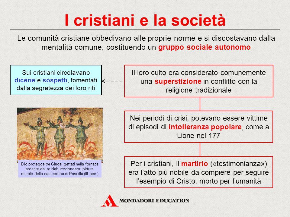 I cristiani e la società