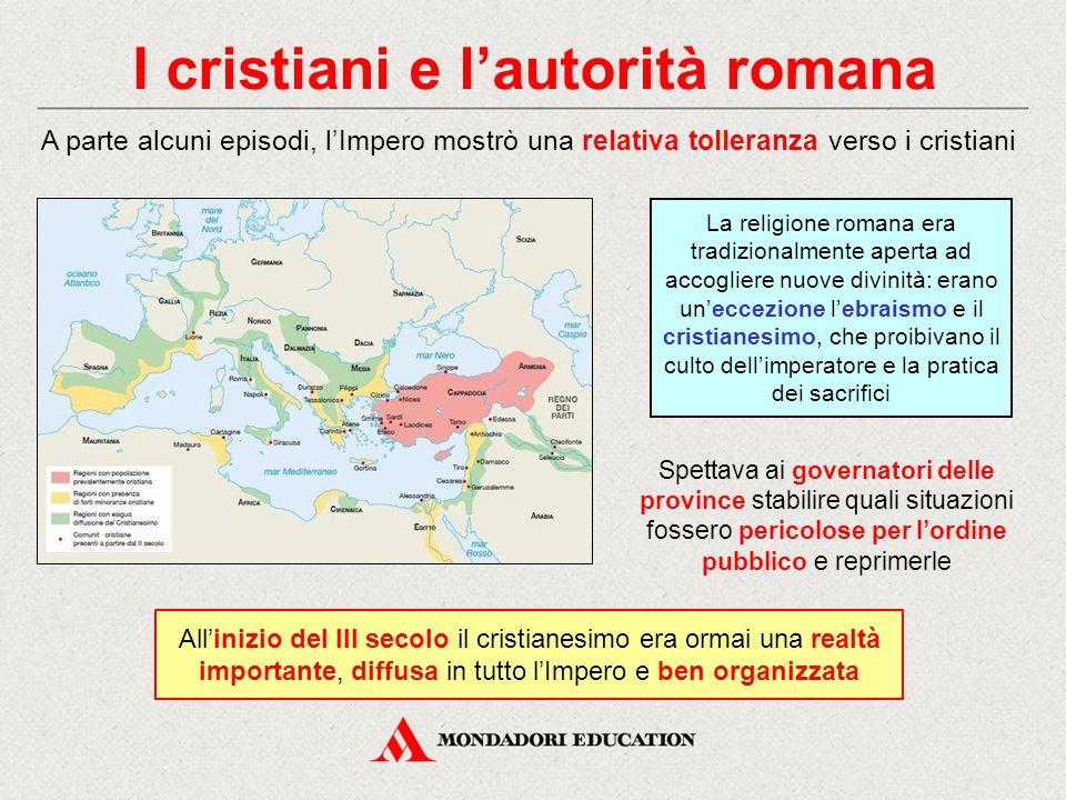 I cristiani e l'autorità romana