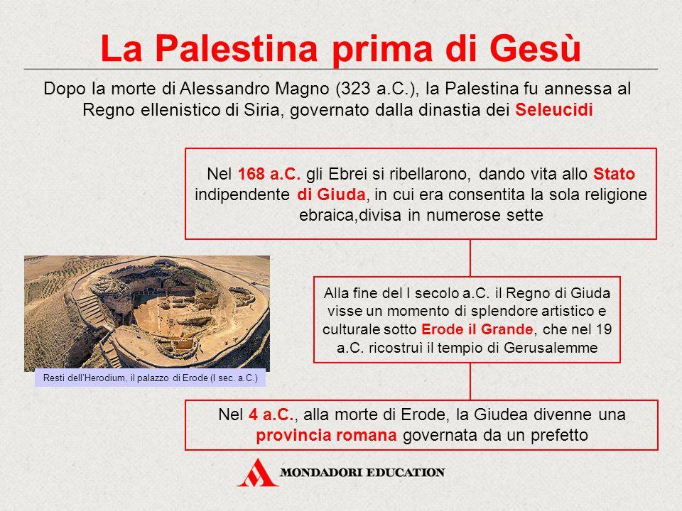 La Palestina prima di Gesù