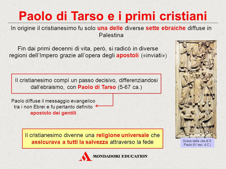 Paolo di Tarso e i primi cristiani