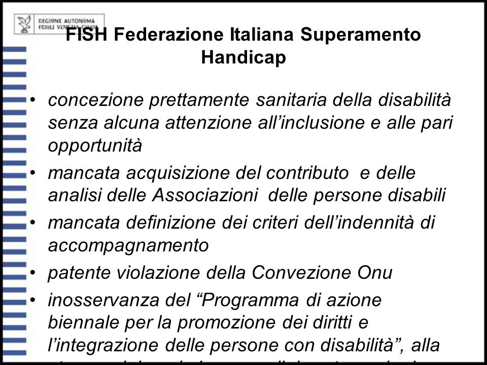 FISH Federazione Italiana Superamento Handicap
