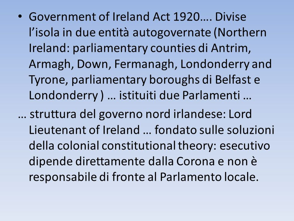 Government of Ireland Act 1920…