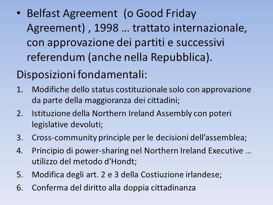 Disposizioni fondamentali: