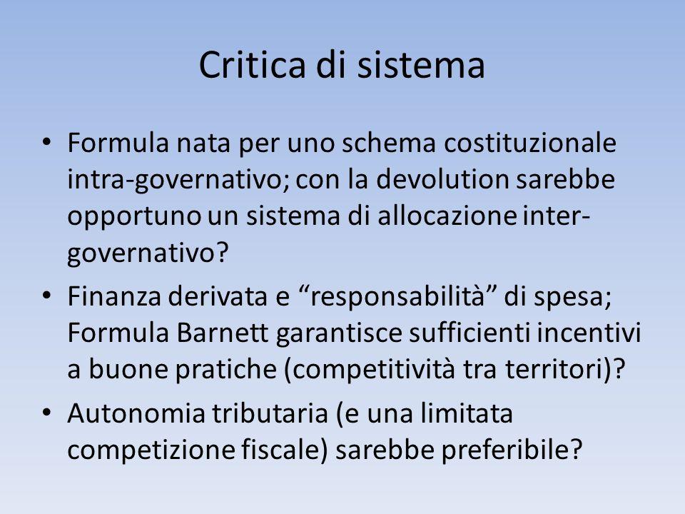 Critica di sistema