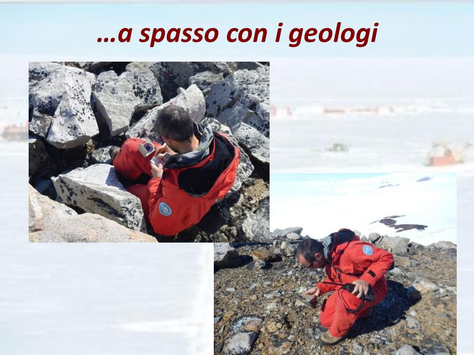 …a spasso con i geologi