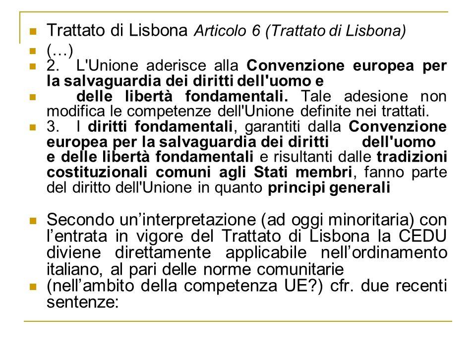 Trattato di Lisbona Articolo 6 (Trattato di Lisbona)