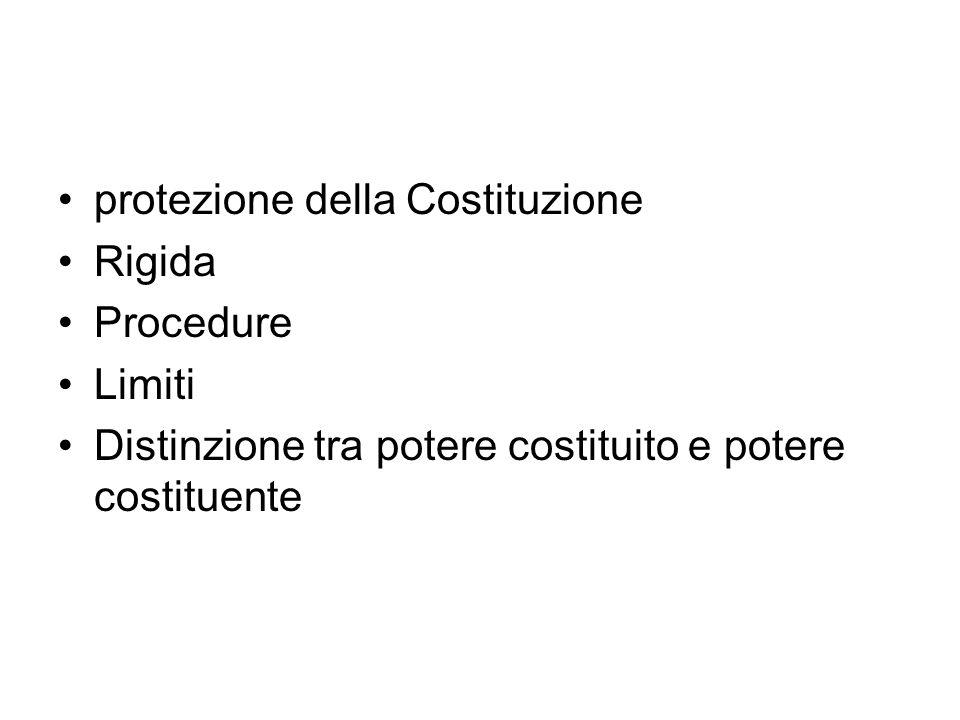 protezione della Costituzione