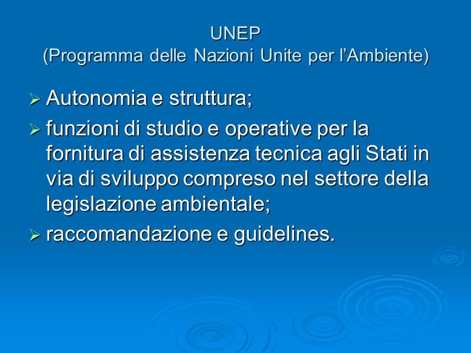 UNEP (Programma delle Nazioni Unite per l'Ambiente)