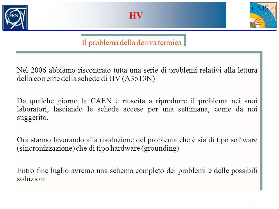 HV Il problema della deriva termica