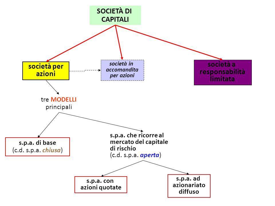 società a responsabilità limitata società per azioni