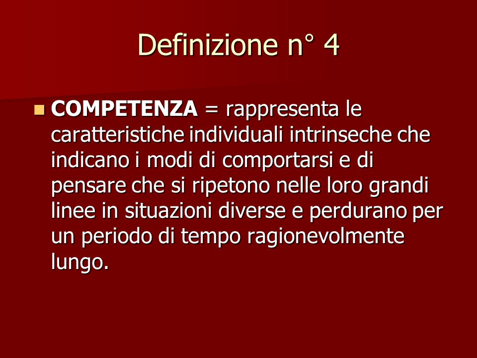 Definizione n° 4