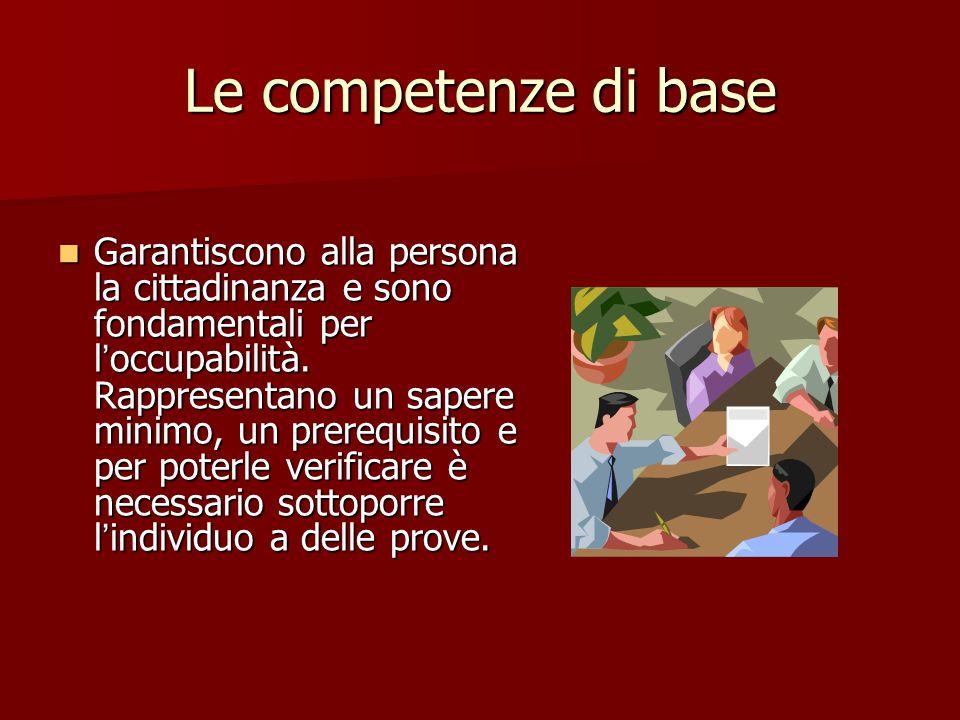 Le competenze di base