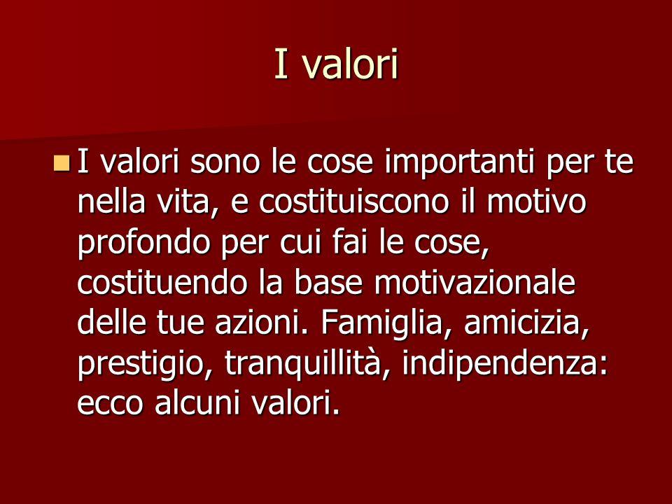 I valori