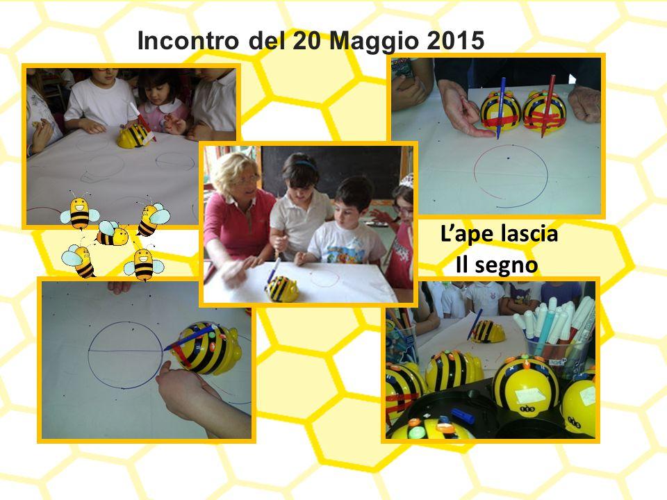 Incontro del 20 Maggio 2015 L'ape lascia Il segno