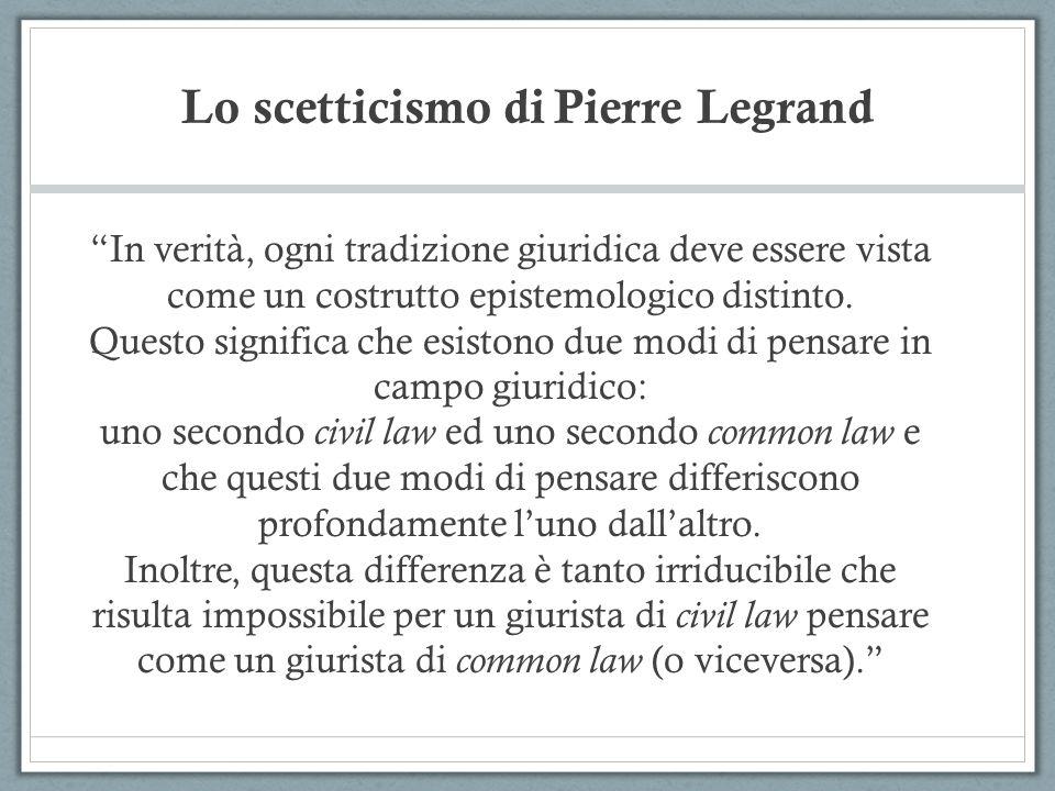 Lo scetticismo di Pierre Legrand