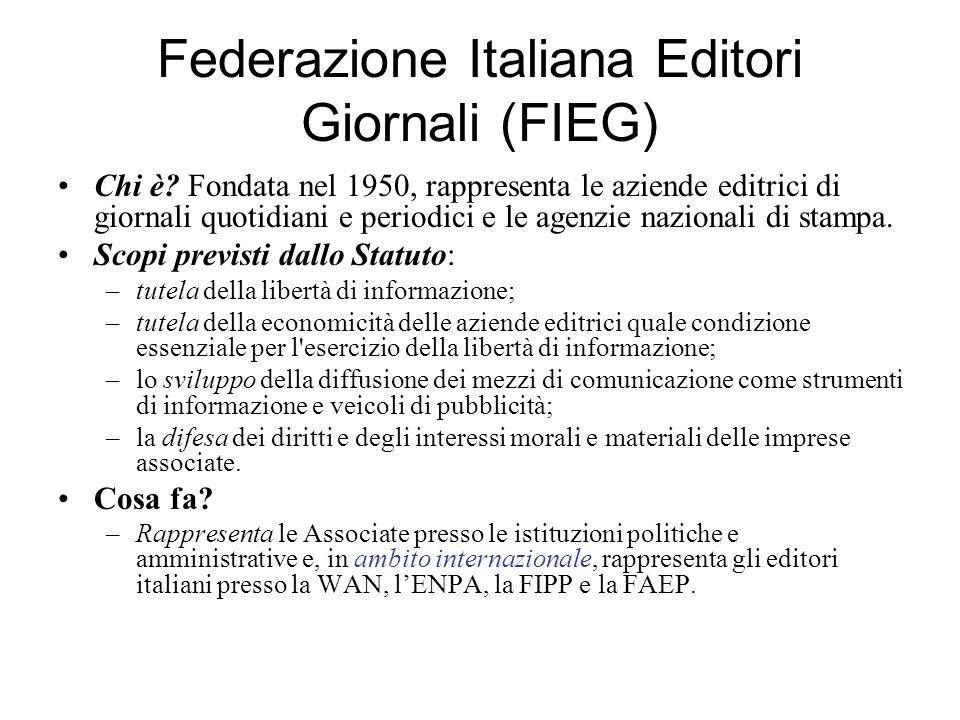 Federazione Italiana Editori Giornali (FIEG)