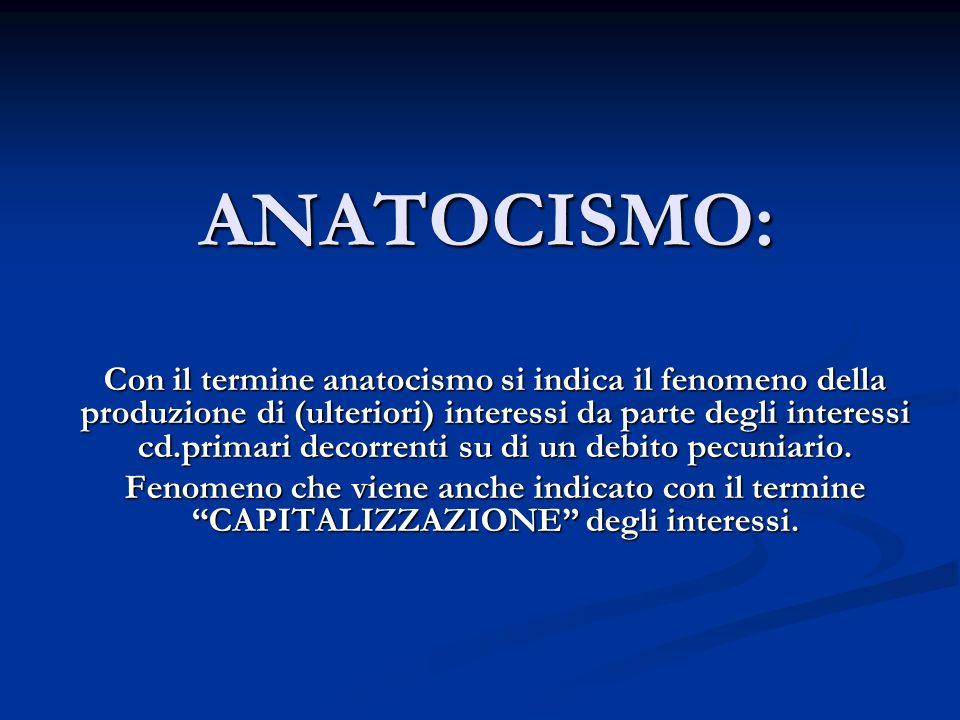 ANATOCISMO: