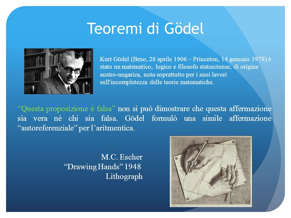 Teoremi di Gödel