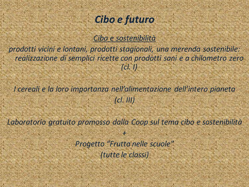 Cibo e futuro