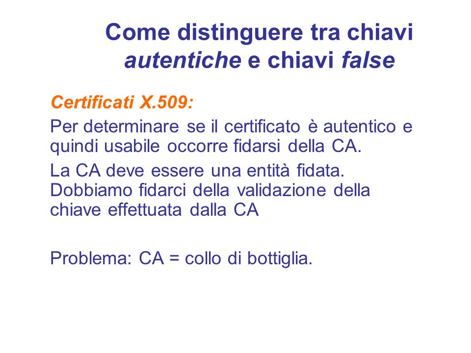 Come distinguere tra chiavi autentiche e chiavi false