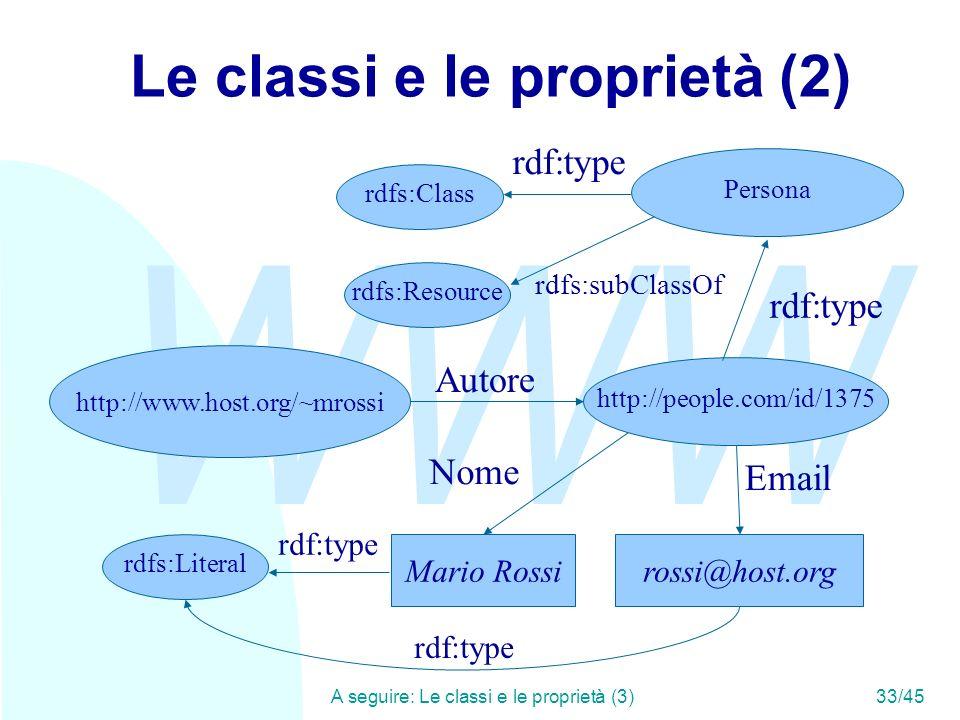 Le classi e le proprietà (2)