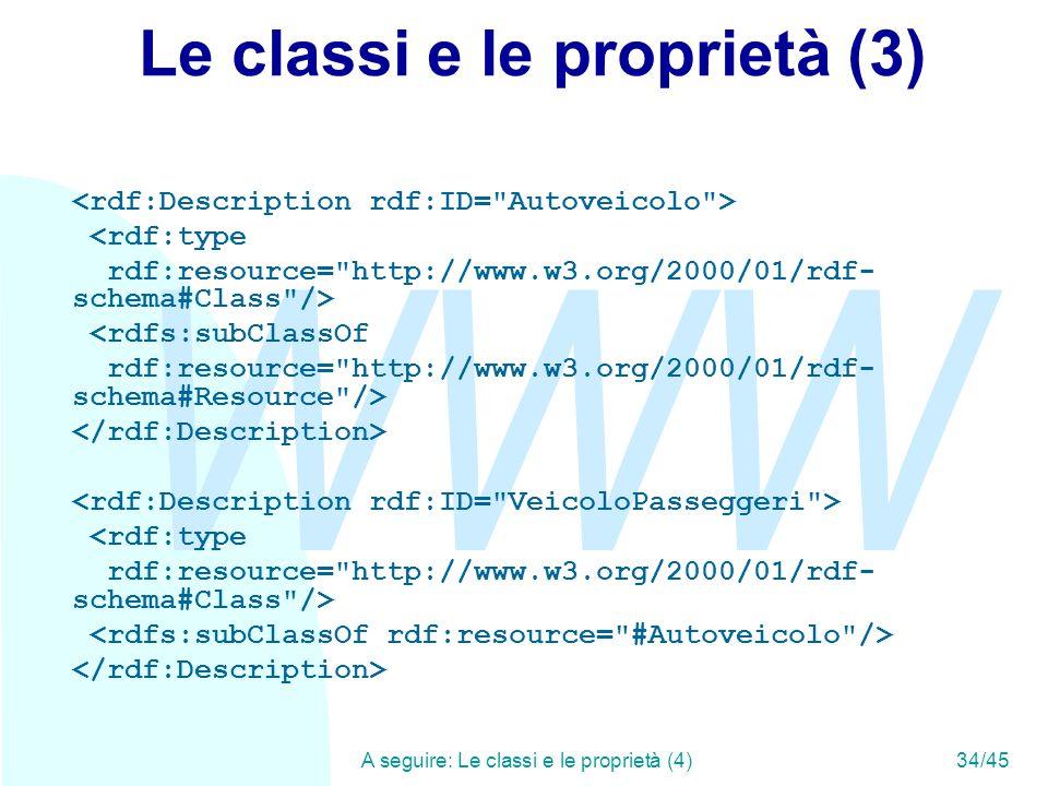 Le classi e le proprietà (3)